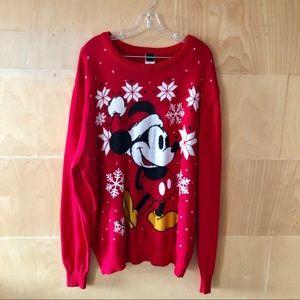 Disney | Mickey Mouse Santa Christmas Sweater